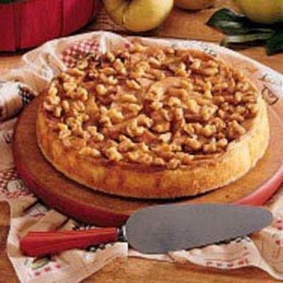 gâteau au fromage strudel aux pommes