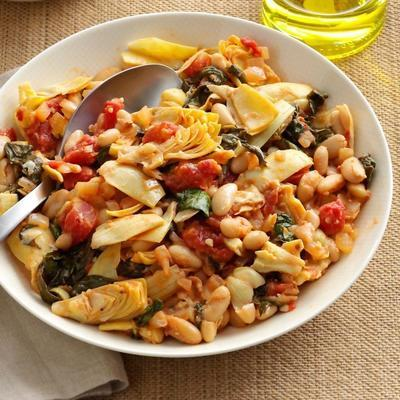 salades d'épinards méditerranéennes