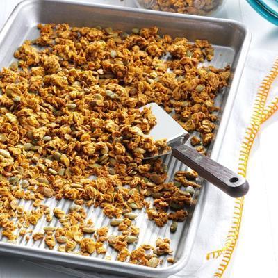 granola aux épices de citrouille