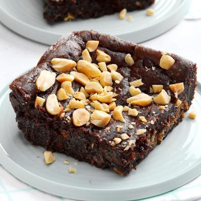 gâteau au chocolat-beurre d'arachide
