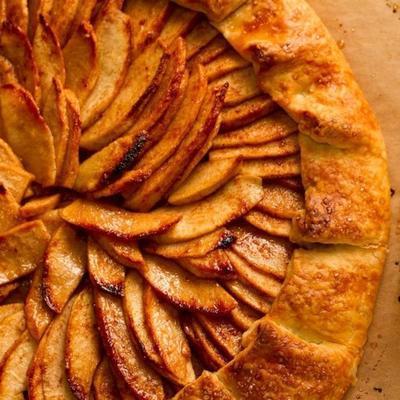 gallette de pommes festive