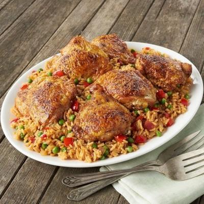 arroz con pollo de college inn
