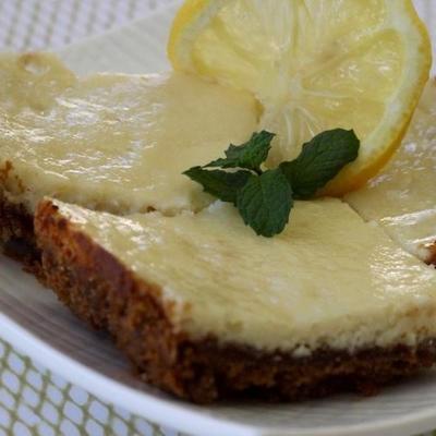 bouchées au fromage au gingembre et au citron