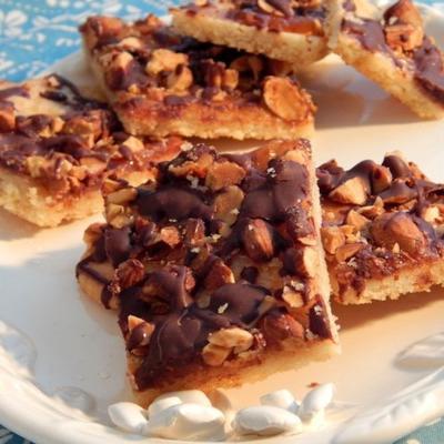 barres de biscuits au sucre de printemps