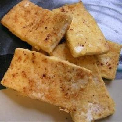 tofu pané (sans gluten)