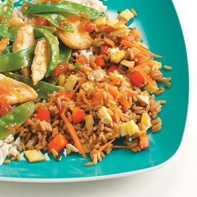 riz frit au gingembre