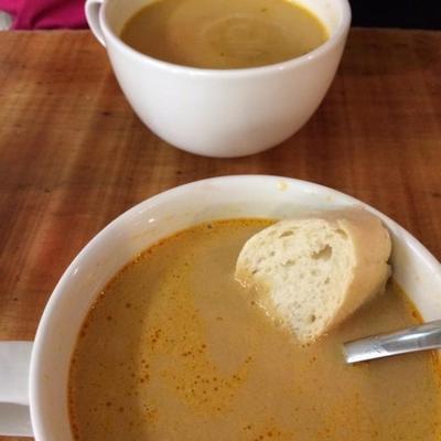 soupe de homard islandais