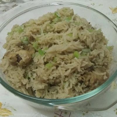biryani au poulet cuit lentement
