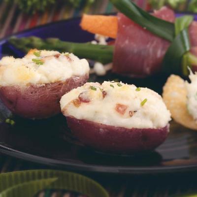 nouvelles pommes de terre farcies au gorgonzola