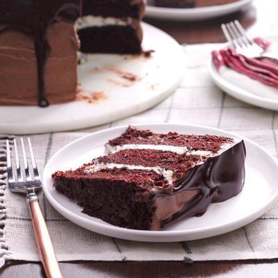 gâteau sensation ganache au chocolat