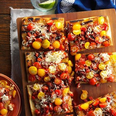 tarte triple tomate