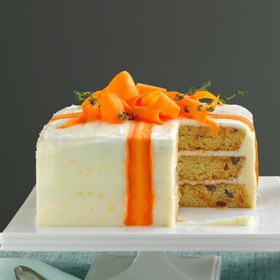orange vous sur le thym pour gâteau aux carottes