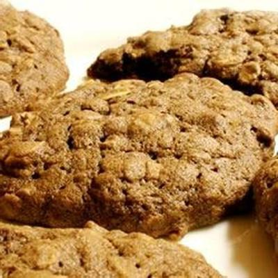 biscuits à l'avoine au cacao
