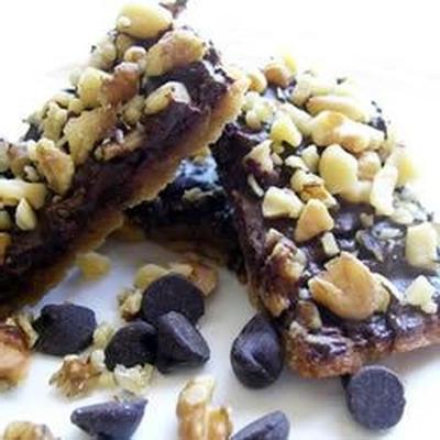 biscuits au caramel et aux noix