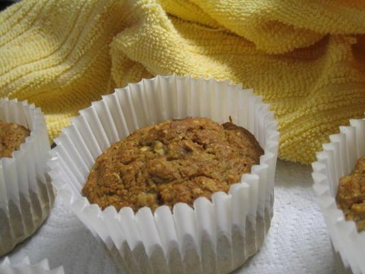 meilleurs muffins à l'avoine et à la banane