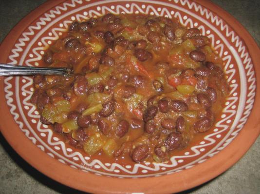 Trempette de salsa aux haricots noirs 1-2-3