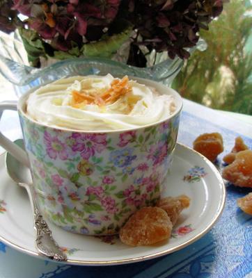 cacao chaud au gingembre