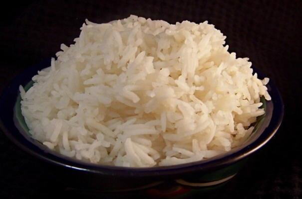 riz à la vapeur