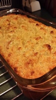 2e fois c'est le pudding au pain de maïs