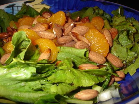 salade d'épinards à la mandarine