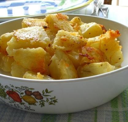 pommes de terre au parmesan rôties au four