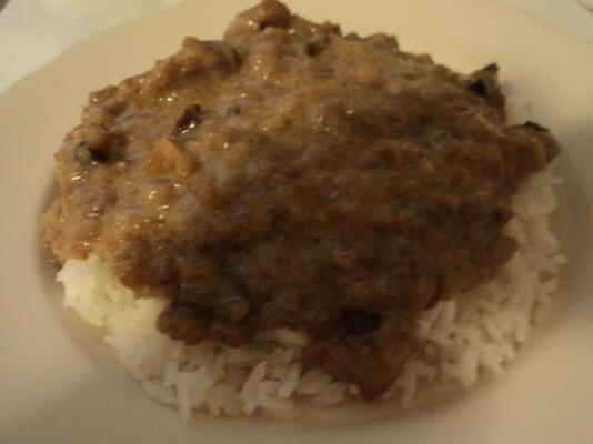 pot de bœuf de style mongol