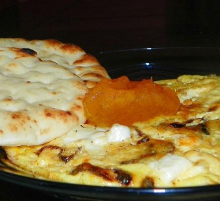 Frittata à l'oignon caramélisé - avec 3 autres variantes