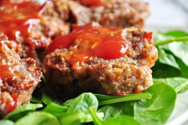 pains à la viande muffins-aigre-doux
