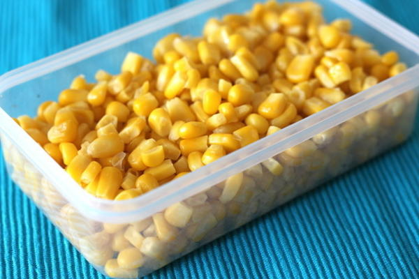 maïs sucré pour le congélateur