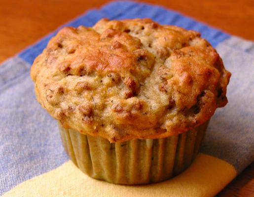 muffins au son de yogourt (de la fibre un)