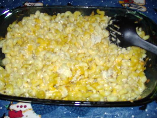 macaronis à la dinde