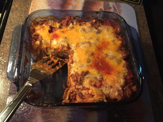 lasagne de ravioli facile