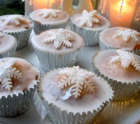 gâteaux magiques de fées de Noël - petits gâteaux de fées de Noël