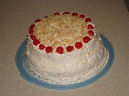 gâteau au coucher du soleil hawaïen