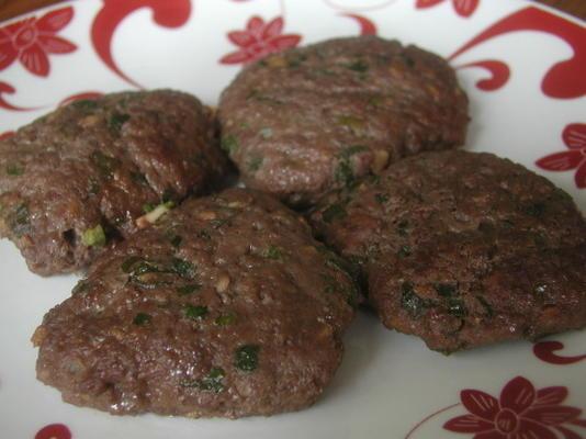 galettes de bœuf coréen