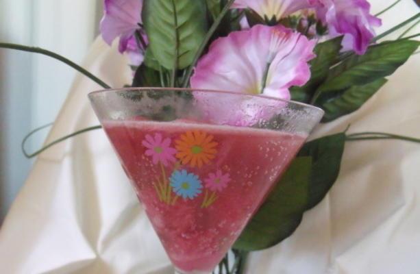 Punch framboise rose facile à 2 ingrédients