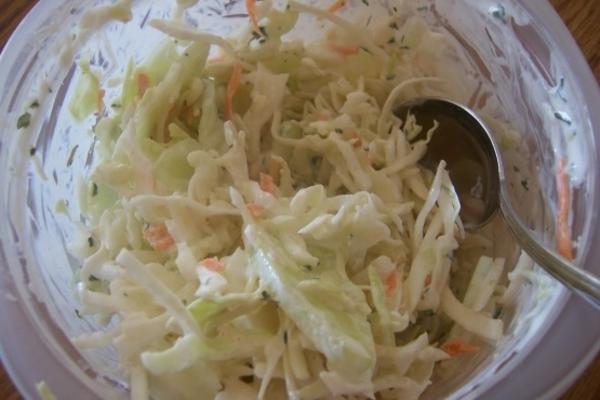 salade de chou salée - ouest