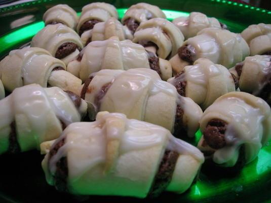 biscuits au chocolat et aux amandes