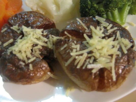 pommes de terre frites panées