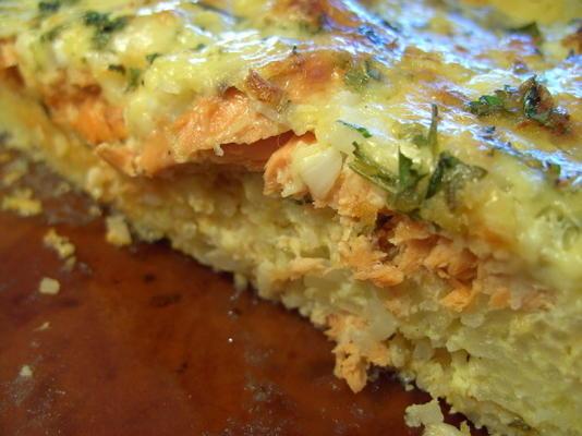 tarte au saumon rouge