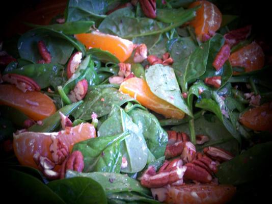 salade d'épinards et noix de pécan