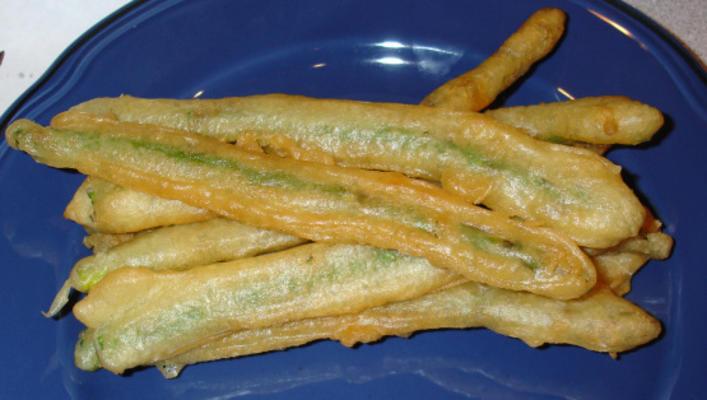 planète végétarienne asperges wasabi tempura