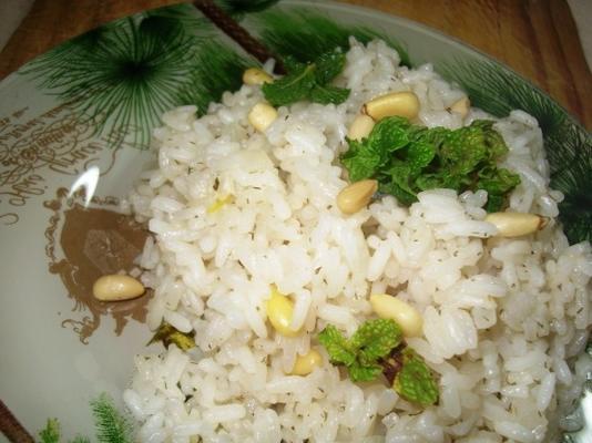 riz aux pignons