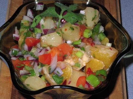 salsa à l'orange épicée