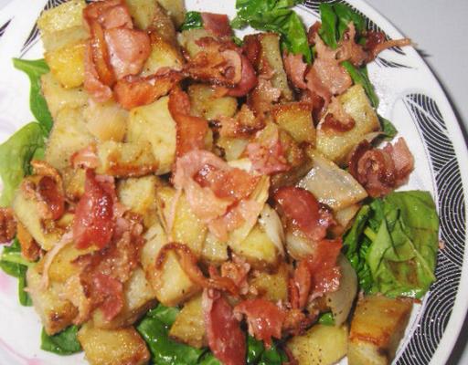 Salade de patate douce grillées'