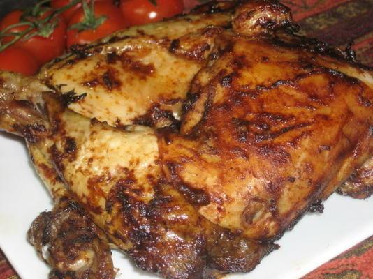poulet grillé à la tomate et au balsamique