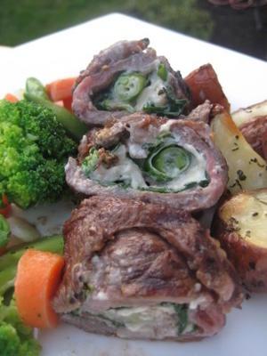 Roulades de steak de flanc de rachael ray