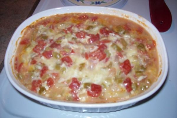 patates yiahni (pommes de terre et tomates)