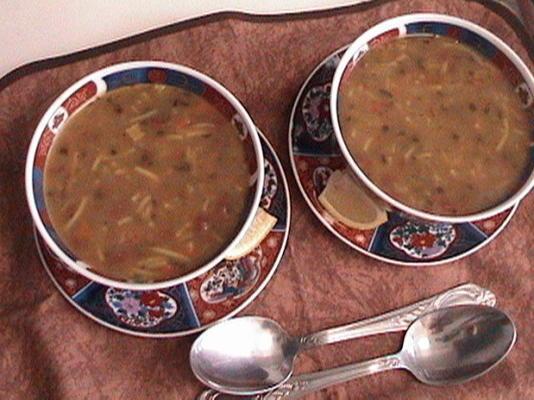 la harira de hajar - la soupe nationale de maroc