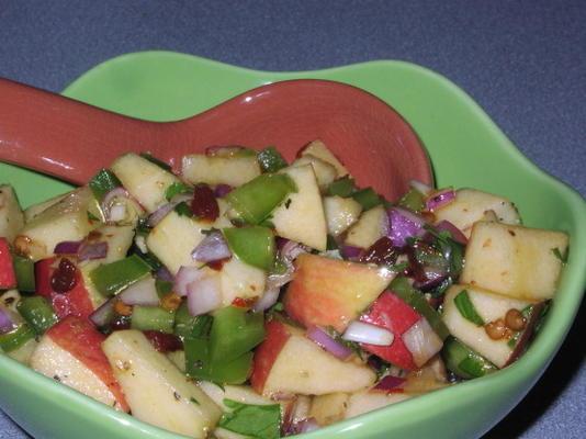 salsa aux pommes et chipotle (sud-ouest)